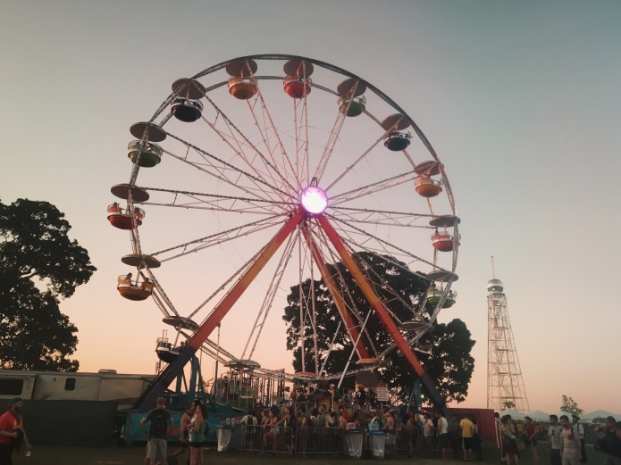 Bonnaroo Ferris Wheel